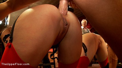 Photo number 11 from Showing Off the Newest Anal Sex House Slave shot for The Upper Floor on Kink.com. Featuring Bill Bailey, Casey Calvert  and Alani Pi in hardcore BDSM & Fetish porn.