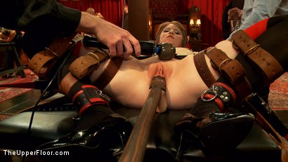 Photo number 4 from Showing Off the Newest Anal Sex House Slave shot for The Upper Floor on Kink.com. Featuring Bill Bailey, Casey Calvert  and Alani Pi in hardcore BDSM & Fetish porn.
