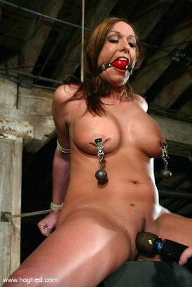 Photo number 3 from Sasha Sparks shot for Hogtied on Kink.com. Featuring Sasha Sparks in hardcore BDSM & Fetish porn.