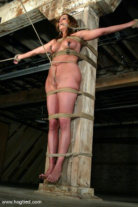 Photo number 7 from Sasha Sparks shot for Hogtied on Kink.com. Featuring Sasha Sparks in hardcore BDSM & Fetish porn.
