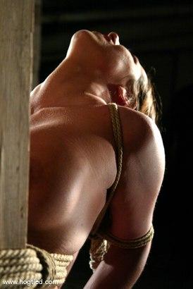Photo number 9 from Sasha Sparks shot for Hogtied on Kink.com. Featuring Sasha Sparks in hardcore BDSM & Fetish porn.