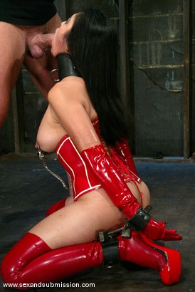 Photo number 6 from Mark Davis and Mika Tan shot for Sex And Submission on Kink.com. Featuring Mika Tan and Mark Davis in hardcore BDSM & Fetish porn.