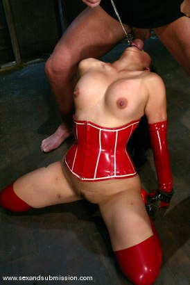 Photo number 9 from Mark Davis and Mika Tan shot for Sex And Submission on Kink.com. Featuring Mika Tan and Mark Davis in hardcore BDSM & Fetish porn.