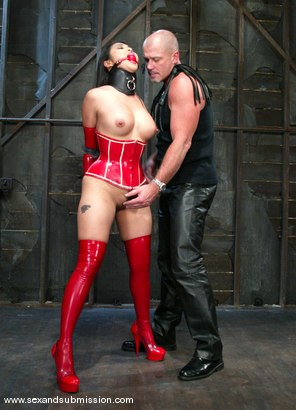 Photo number 1 from Mark Davis and Mika Tan shot for Sex And Submission on Kink.com. Featuring Mika Tan and Mark Davis in hardcore BDSM & Fetish porn.