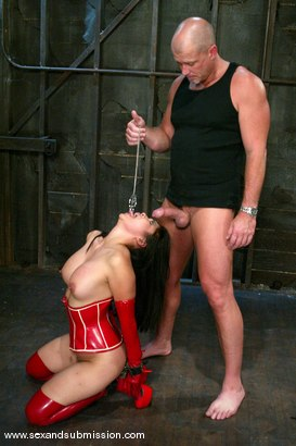Photo number 10 from Mark Davis and Mika Tan shot for Sex And Submission on Kink.com. Featuring Mika Tan and Mark Davis in hardcore BDSM & Fetish porn.