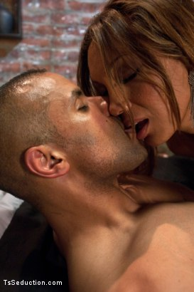 Photo number 6 from Protecting His Life, Seducing His Cock shot for TS Seduction on Kink.com. Featuring Yasmin Lee and Robert Axel in hardcore BDSM & Fetish porn.