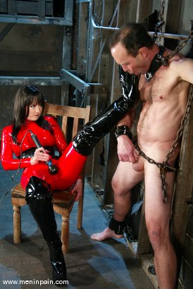 Photo number 11 from Mistress Aradia and Pussybottomboy shot for Men In Pain on Kink.com. Featuring Mistress Aradia and Pussybottomboy in hardcore BDSM & Fetish porn.