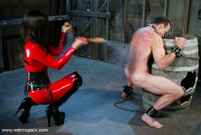 Photo number 4 from Mistress Aradia and Pussybottomboy shot for Men In Pain on Kink.com. Featuring Mistress Aradia and Pussybottomboy in hardcore BDSM & Fetish porn.