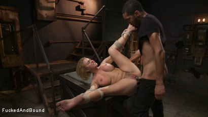 Photo number 18 from Hot Blonde Takes Huge Cock shot for Brutal Sessions on Kink.com. Featuring Mickey Mod and Krissy Lynn in hardcore BDSM & Fetish porn.