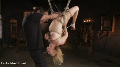 Photo number 3 from Hot Blonde Takes Huge Cock shot for Brutal Sessions on Kink.com. Featuring Mickey Mod and Krissy Lynn in hardcore BDSM & Fetish porn.