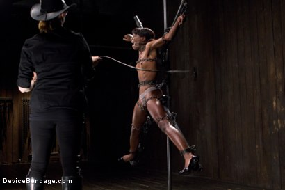Photo number 9 from Fragments IX shot for Device Bondage on Kink.com. Featuring Ana Foxxx and Ranie Mae in hardcore BDSM & Fetish porn.