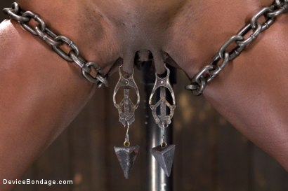 Photo number 10 from Fragments IX shot for Device Bondage on Kink.com. Featuring Ana Foxxx and Ranie Mae in hardcore BDSM & Fetish porn.