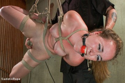Photo number 15 from 18 Year Old Newcomer is Destroyed!! shot for Sadistic Rope on Kink.com. Featuring Jessie Parker in hardcore BDSM & Fetish porn.
