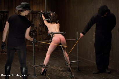 Photo number 8 from Final Reckoning  shot for Device Bondage on Kink.com. Featuring Iona Grace and Orlando in hardcore BDSM & Fetish porn.