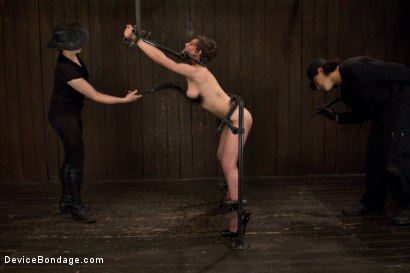 Photo number 7 from Final Reckoning  shot for Device Bondage on Kink.com. Featuring Iona Grace and Orlando in hardcore BDSM & Fetish porn.