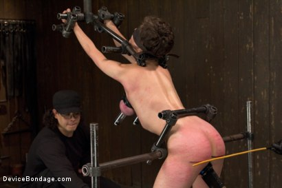 Photo number 9 from Final Reckoning  shot for Device Bondage on Kink.com. Featuring Iona Grace and Orlando in hardcore BDSM & Fetish porn.
