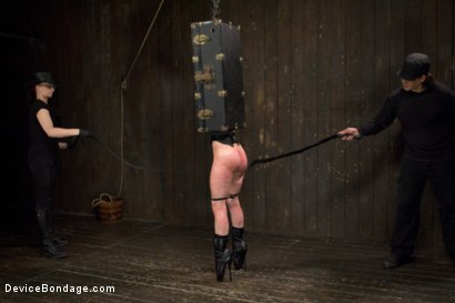 Photo number 2 from Final Reckoning  shot for Device Bondage on Kink.com. Featuring Iona Grace and Orlando in hardcore BDSM & Fetish porn.