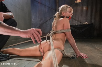 Photo number 5 from Ashley Fires Submits! shot for Sadistic Rope on Kink.com. Featuring Ashley Fires in hardcore BDSM & Fetish porn.