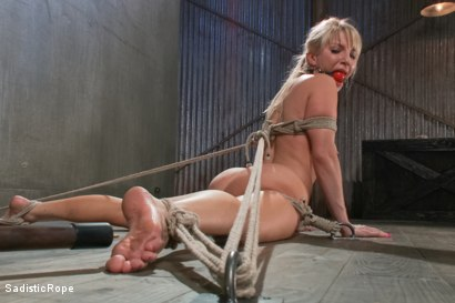 Photo number 7 from Ashley Fires Submits! shot for Sadistic Rope on Kink.com. Featuring Ashley Fires in hardcore BDSM & Fetish porn.