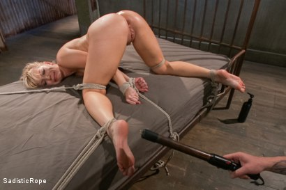 Photo number 9 from Ashley Fires Submits! shot for Sadistic Rope on Kink.com. Featuring Ashley Fires in hardcore BDSM & Fetish porn.
