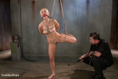 Photo number 3 from Ashley Fires Submits! shot for Sadistic Rope on Kink.com. Featuring Ashley Fires in hardcore BDSM & Fetish porn.