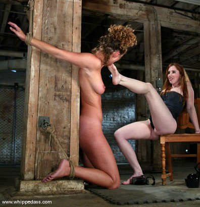 Photo number 8 from Natali Demore and Lola shot for Whipped Ass on Kink.com. Featuring Natali Demore and Lola in hardcore BDSM & Fetish porn.