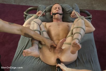 Photo number 12 from Vertical Suspension, Tickle Torment and Extreme Edging shot for Men On Edge on Kink.com. Featuring JR Matthews in hardcore BDSM & Fetish porn.