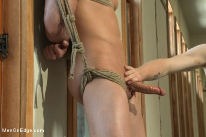 Photo number 3 from Vertical Suspension, Tickle Torment and Extreme Edging shot for Men On Edge on Kink.com. Featuring JR Matthews in hardcore BDSM & Fetish porn.