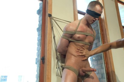 Photo number 4 from Vertical Suspension, Tickle Torment and Extreme Edging shot for Men On Edge on Kink.com. Featuring JR Matthews in hardcore BDSM & Fetish porn.
