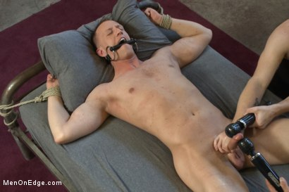Photo number 10 from Vertical Suspension, Tickle Torment and Extreme Edging shot for Men On Edge on Kink.com. Featuring JR Matthews in hardcore BDSM & Fetish porn.