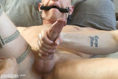 Photo number 9 from Vertical Suspension, Tickle Torment and Extreme Edging shot for Men On Edge on Kink.com. Featuring JR Matthews in hardcore BDSM & Fetish porn.