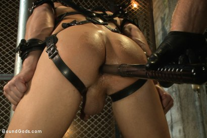Photo number 4 from Officer Alex Adams' Filthy Fantasy shot for Bound Gods on Kink.com. Featuring Connor Maguire and Alex Adams in hardcore BDSM & Fetish porn.