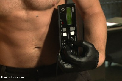 Photo number 6 from Officer Alex Adams' Filthy Fantasy shot for Bound Gods on Kink.com. Featuring Connor Maguire and Alex Adams in hardcore BDSM & Fetish porn.