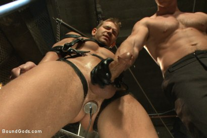 Photo number 7 from Officer Alex Adams' Filthy Fantasy shot for Bound Gods on Kink.com. Featuring Connor Maguire and Alex Adams in hardcore BDSM & Fetish porn.