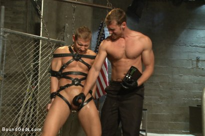 Photo number 8 from Officer Alex Adams' Filthy Fantasy shot for Bound Gods on Kink.com. Featuring Connor Maguire and Alex Adams in hardcore BDSM & Fetish porn.