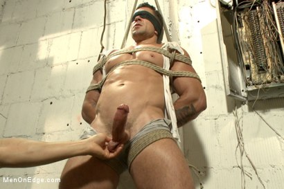 Photo number 7 from Tables are turned for a perverted electrician  shot for Men On Edge on Kink.com. Featuring Trenton Ducati in hardcore BDSM & Fetish porn.