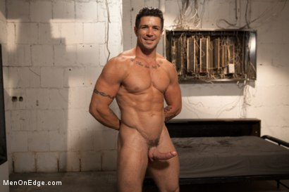 Photo number 15 from Tables are turned for a perverted electrician  shot for Men On Edge on Kink.com. Featuring Trenton Ducati in hardcore BDSM & Fetish porn.