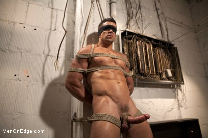 Photo number 3 from Tables are turned for a perverted electrician  shot for Men On Edge on Kink.com. Featuring Trenton Ducati in hardcore BDSM & Fetish porn.