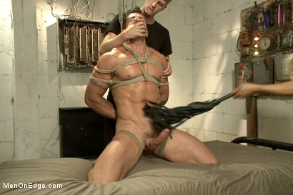 Photo number 8 from Tables are turned for a perverted electrician  shot for Men On Edge on Kink.com. Featuring Trenton Ducati in hardcore BDSM & Fetish porn.