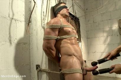 Photo number 5 from Tables are turned for a perverted electrician  shot for Men On Edge on Kink.com. Featuring Trenton Ducati in hardcore BDSM & Fetish porn.