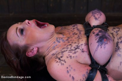 Photo number 12 from Big Natural Tits get Brutalized  shot for Device Bondage on Kink.com. Featuring Bella Rossi in hardcore BDSM & Fetish porn.