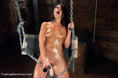 Photo number 7 from Is it Weird that We are Proud of Making Her Cry Orgasm Tears? shot for Fucking Machines on Kink.com. Featuring Adriana Chechik in hardcore BDSM & Fetish porn.