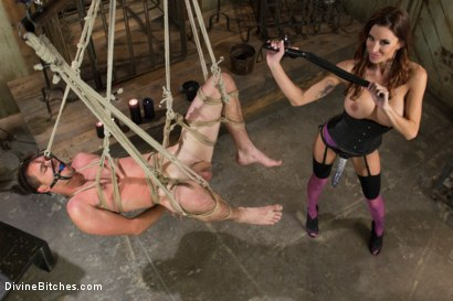 Photo number 4 from New Meat Test Drive shot for Divine Bitches on Kink.com. Featuring James Riker and Gia DiMarco in hardcore BDSM & Fetish porn.