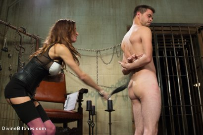 Photo number 3 from New Meat Test Drive shot for Divine Bitches on Kink.com. Featuring James Riker and Gia DiMarco in hardcore BDSM & Fetish porn.