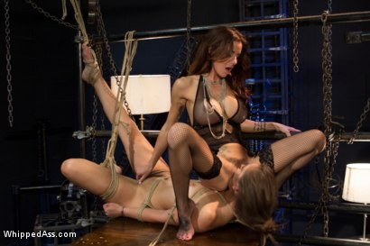 Photo number 13 from Dani Daniels: A Kinky Strip Club shot for Whipped Ass on Kink.com. Featuring Dani Daniels and Gia DiMarco in hardcore BDSM & Fetish porn.