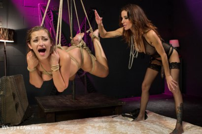 Photo number 7 from Dani Daniels: A Kinky Strip Club shot for Whipped Ass on Kink.com. Featuring Dani Daniels and Gia DiMarco in hardcore BDSM & Fetish porn.