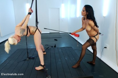 Photo number 16 from Lorelei Destroyed by Isis Love's Cattle Prod shot for Electro Sluts on Kink.com. Featuring Isis Love and Lorelei Lee in hardcore BDSM & Fetish porn.