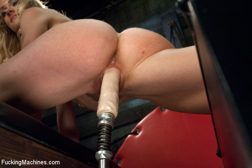 Former Gymnast, Local Mom fucked tight and loose by MACHINES!
