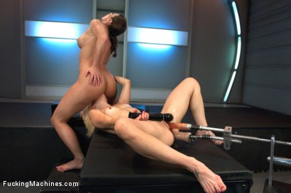 Photo number 8 from Ariel X Fists & Machine Fucks Holly Hanna. Fist train & Squirting O's! shot for Fucking Machines on Kink.com. Featuring Holly Hanna and Ariel X in hardcore BDSM & Fetish porn.