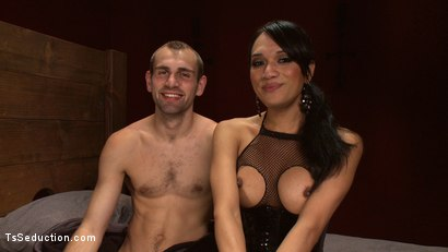 Photo number 15 from Get Ready for NASTY: Anal Creampies, cum eating, fucking & TOTAL DOM shot for TS Seduction on Kink.com. Featuring Jessica Fox and Blake in hardcore BDSM & Fetish porn.